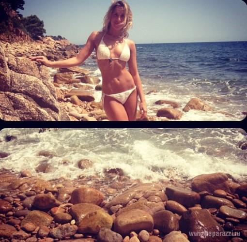 Юлия Ковальчук в отпуске