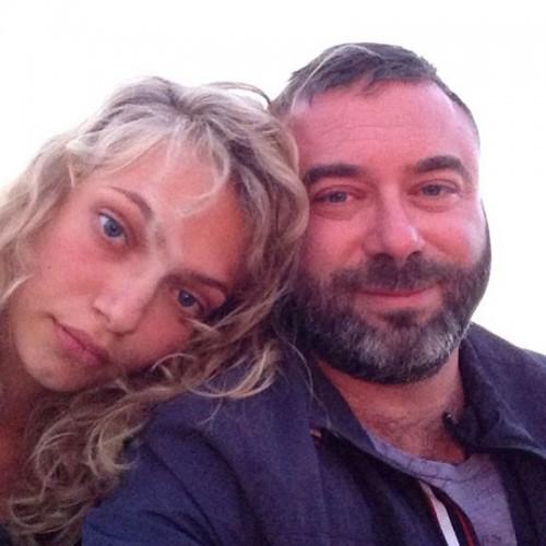 Михаил Киперман с женой-моделью