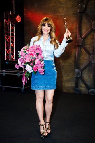 Оксана Марченко получила награду