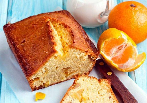 Рецепт                  Имбирный кекс с мандариновой пропиткой