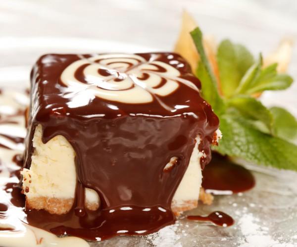 Львовский сырник с шоколадной глазурью