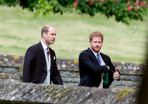 фото принца Уильяма и принца Гарри