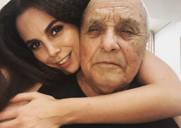 Фото Насти Каменских с отцом