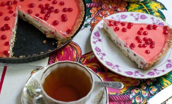 Рецепт                  Торт из красной смородины