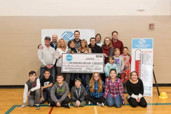 Крис Пратт пожертвовал кРождеству USD 500 тыс. налечение молодых людей