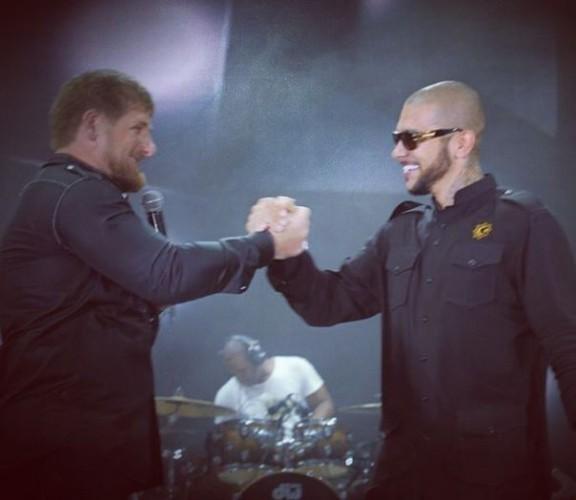 Кадыров и Тимати