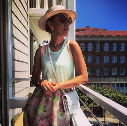 Отдых на пляже в Санта-Монике не впечатлил Ксению Собчак