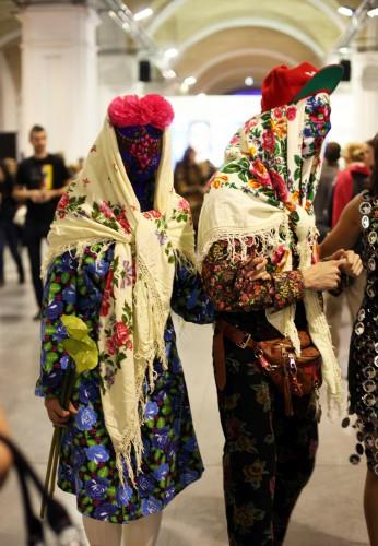 Новые способы носить платки в сезоне осень-зима 2012-2013