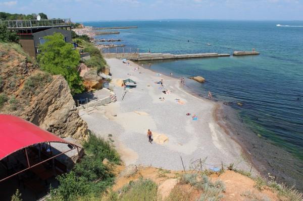 Пляжи Одессы: Чкаловский