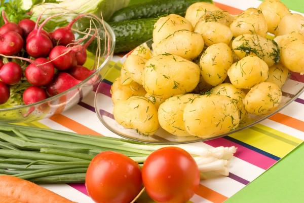 Самые полезные весенние продукты