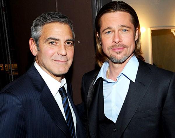 Клуни предложил Питту стать его шафером на свадьбе