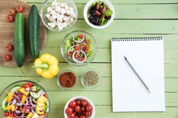 Диетические ингредиенты салата