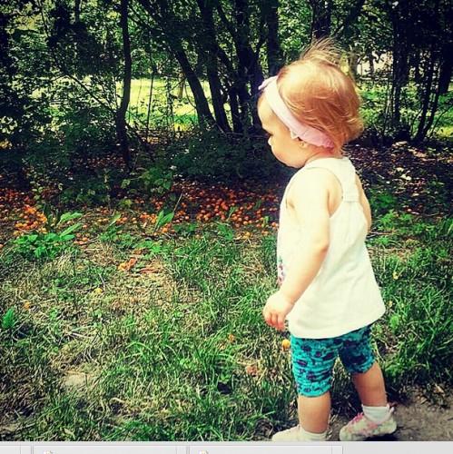 Юлия Плаксина показала фото годовалой дочери