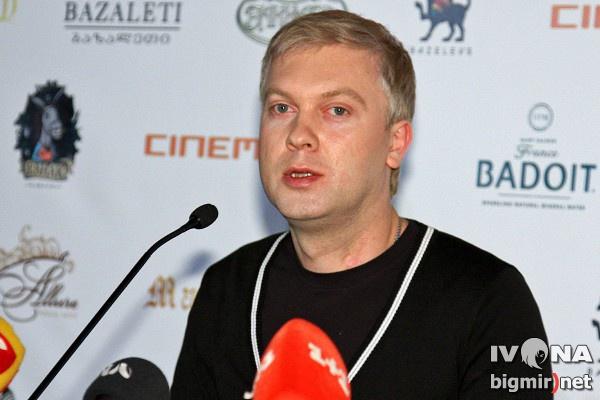 Светлаков представил свой новый фильм в Киеве
