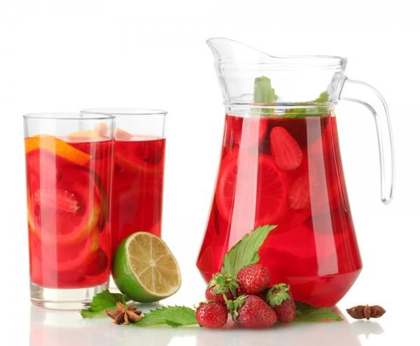 Рецепт                  Земляничный лимонад