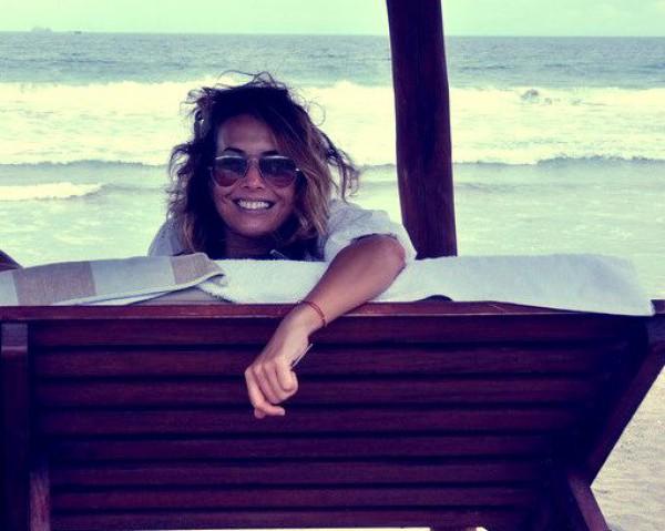 Жанна Фриске: Замечательно проснуться утром и почувствовать энергетику океана