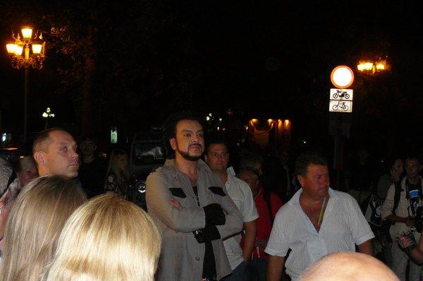Филипп Киркоров не захотел общаться с журналистами