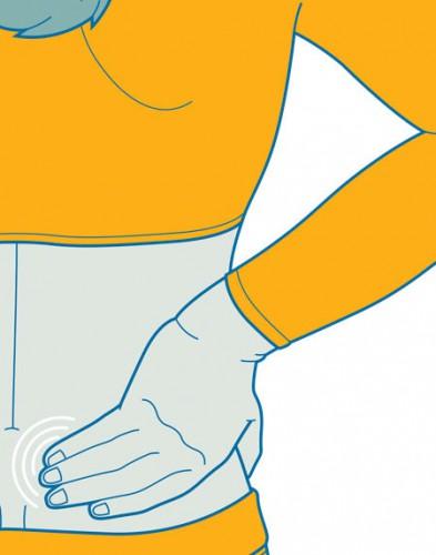 Как облегчить боль в нижней части спины