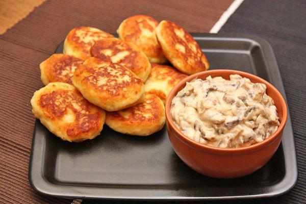 Рецепт                  Грибной соус