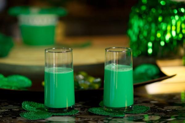Молочный коктейль на День святого Патрика