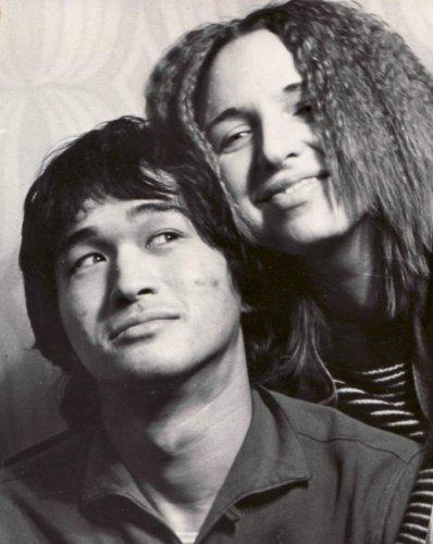 Виктор Цой с Марьяной