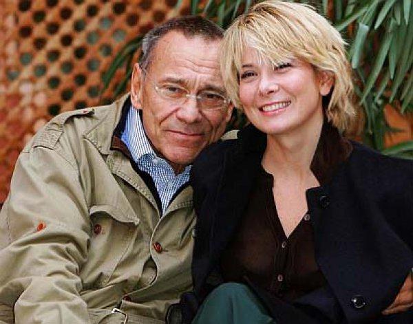 Юлия Высоцкая и ее муж Андрей Кончаловский