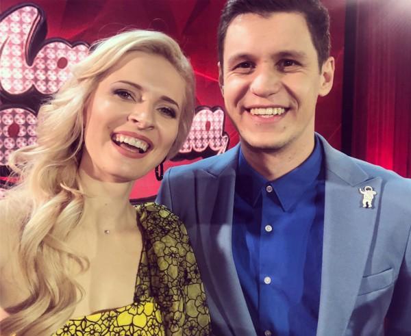 Анна Гресь с мужем