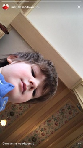 Сын актрисы – четырехлетний Андрей