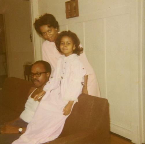 Мишель Обама детское фото
