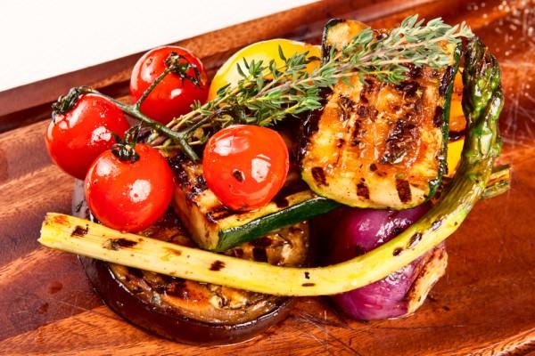 Рецепт                  Овощи на гриле