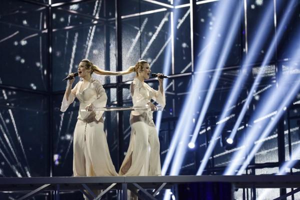 Сестры Толмачевы выступили на Евровидении 2014