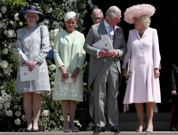 Мама Меган Маркл и семья принца Гарри фото