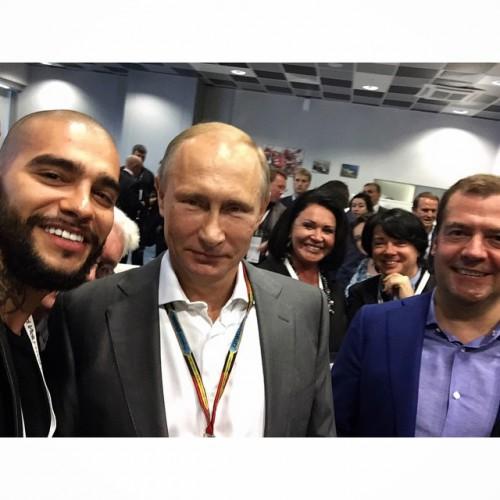 Тимати похвастался снимком с президентом