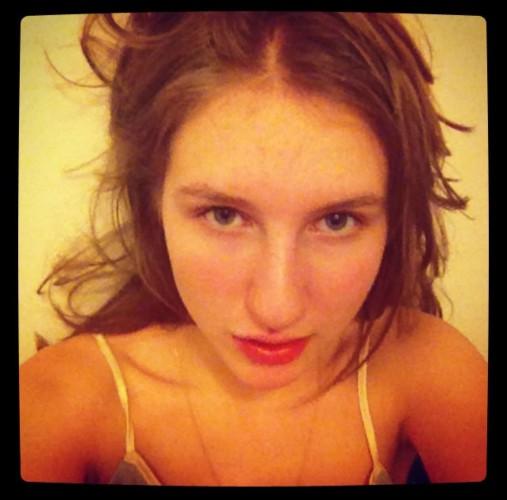 Полина Виторган, дочь актера от первого брака
