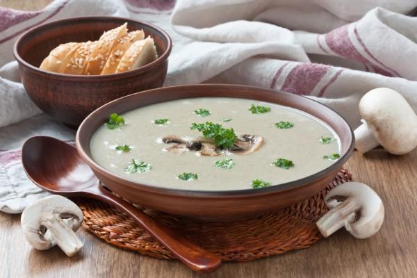 Рецепт постного супа с грибами и картофелем