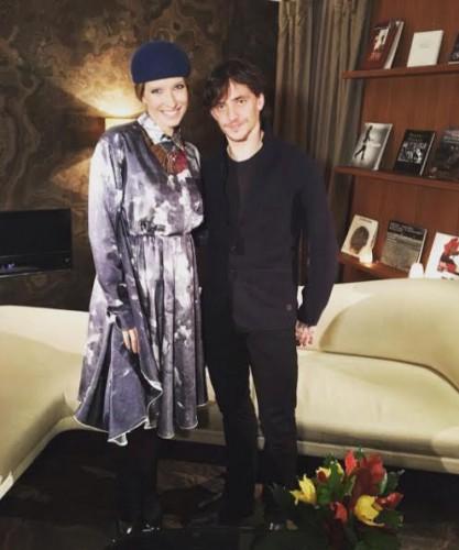 Катя Осадчая и Сергей Полунин