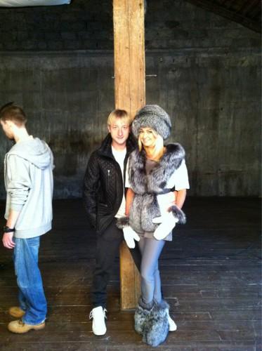 Яна Рудковская уже дома с ребенком