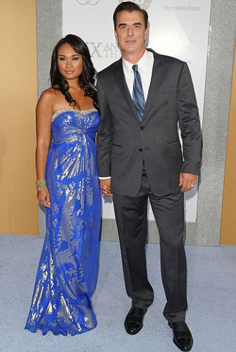 С женой Тарой Уилсон
