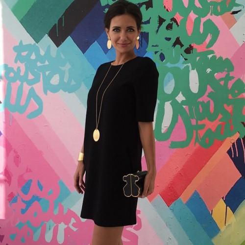 Екатерина Климова  в последнее время носит свободные наряды