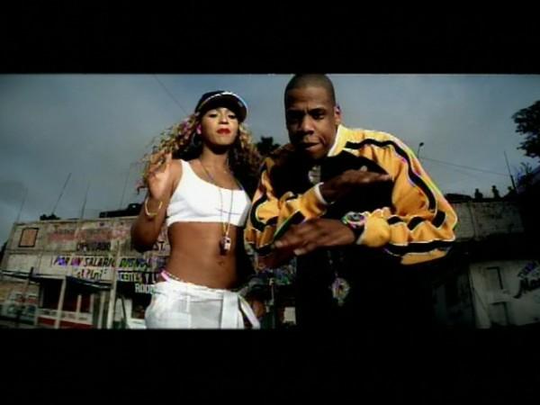 Бейонсе и Jay-Z в клипе Bonnie & Clyde