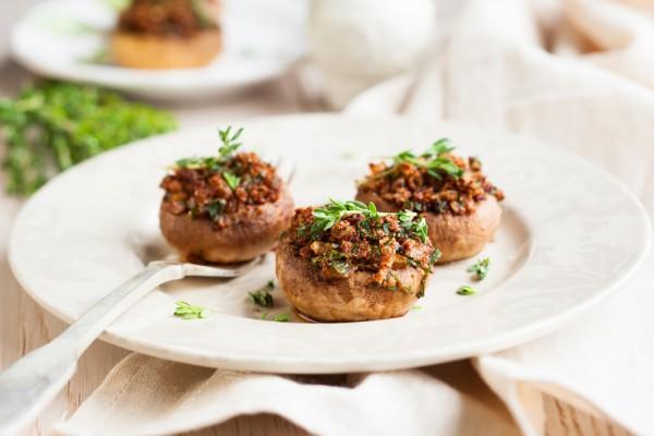 Постные блюда с грибами