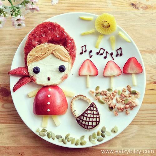 фото оформление блюд для детей