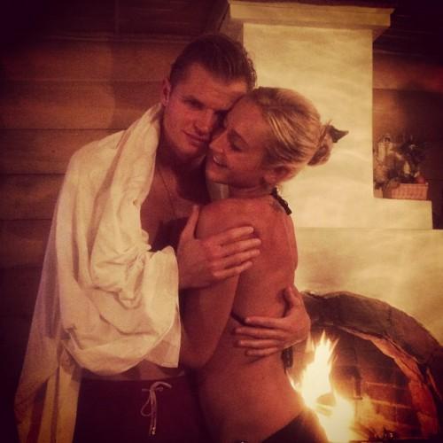 Ольга Бузова и Дмитрий Тарасов провели вечер вместе