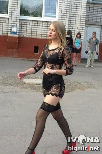 Выпускница Павлограда прославилась из-за откровенного наряда