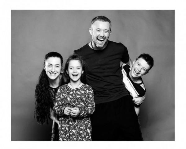 Сергей и Снежана Бабкины с детьми
