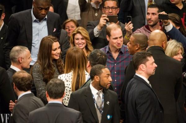 Кейт Миддлтон и принц Уильям познакомились с Бейонсе и Jay Z