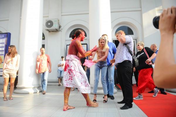 Фемен на кинофестивале в Одессе