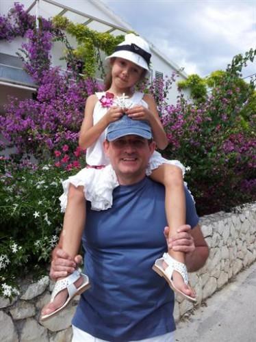 Виктор Медведчук с дочкой Дашей