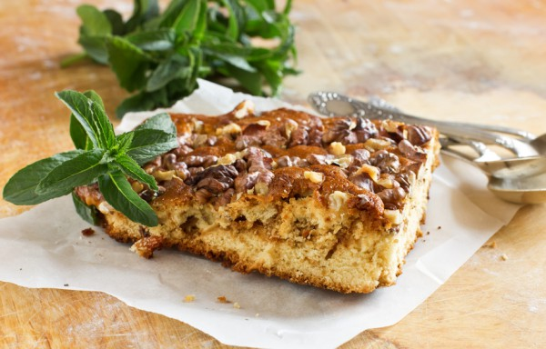 Рецепт                  Пирог с грецкими орехами