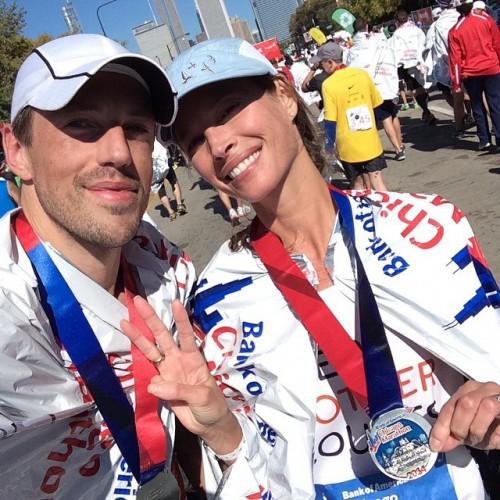 Супермодель 90-х Кристи Тарлингтон регулярно принимает участие в марафонах